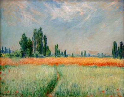 Wheat field - Claude Monet
