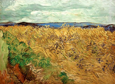 Wheat Field with Cornflowers - Vincent van Gogh