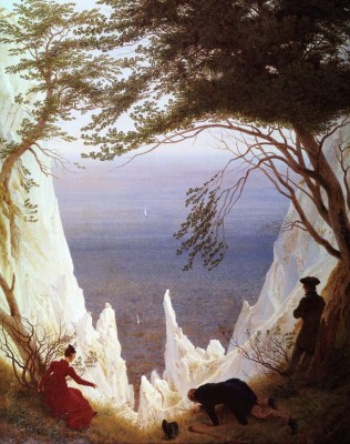 White Clfifs of Ruegen - Caspar David Friedrich