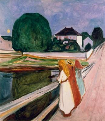 White Night - Edvard Munch