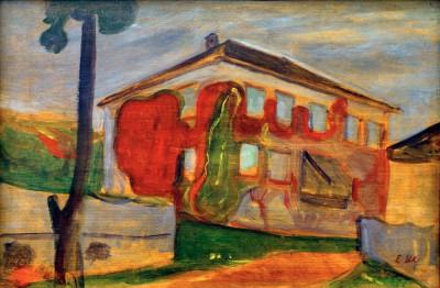 Wild red vine - Edvard Munch