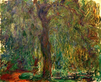 Willow Tree - Claude Monet