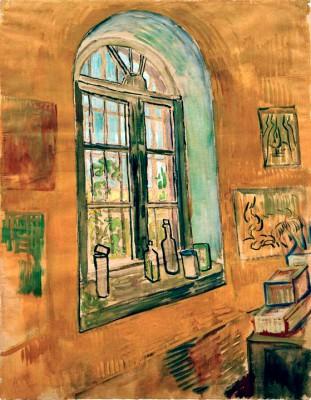 Window in the Studio - Vincent van Gogh
