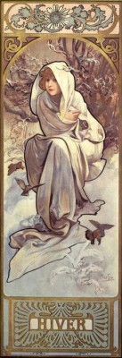 Winter (2) - Alfons Mucha