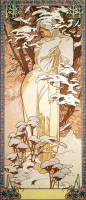 Winter (3) - Alfons Mucha