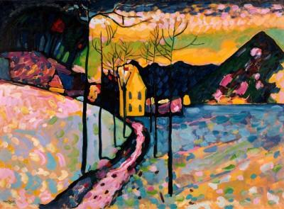 Winter I – Kochel - Wassily Kandinsky