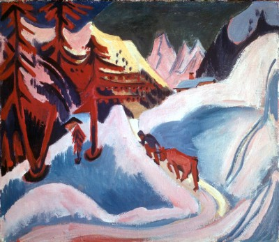 Winter in Davos - Ernst Ludwig Kirchner