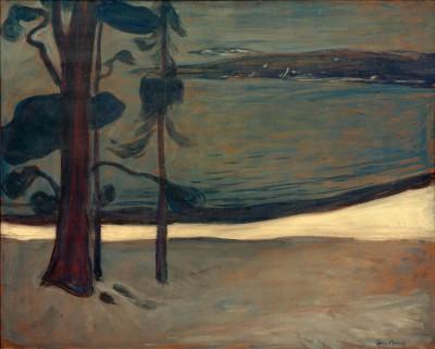 Winter in Nordstrand - Edvard Munch
