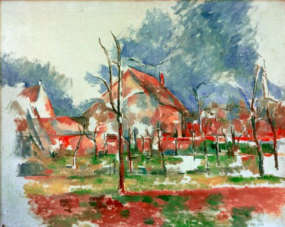 Winterlandscape Giverny - Paul Cézanne