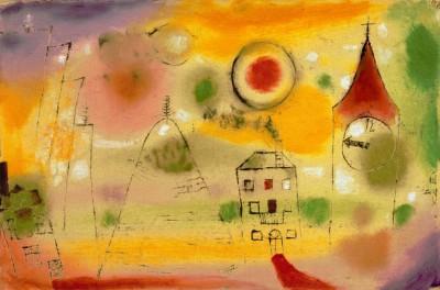 Wintertag kurz vor Mittag - Paul Klee