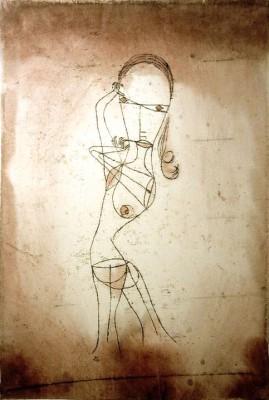 Wissen  Schweigen Vorübergehen - Paul Klee