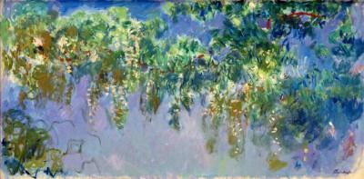 Wisteria study - Claude Monet