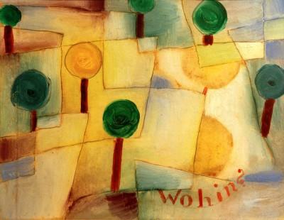 Wohin - Paul Klee