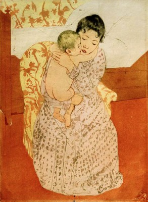 Woman and Child - Mary Cassatt