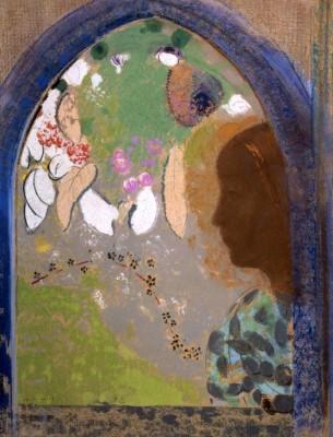 Woman by the window - Odilon Redon