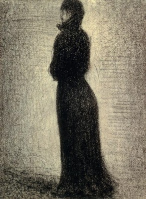 Woman in Black - Georges-Pierre Seurat