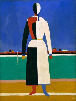 Woman with a Rake - Kazimierz Malewicz