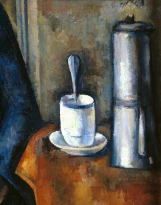 Woman with coffee pot - Paul Cézanne