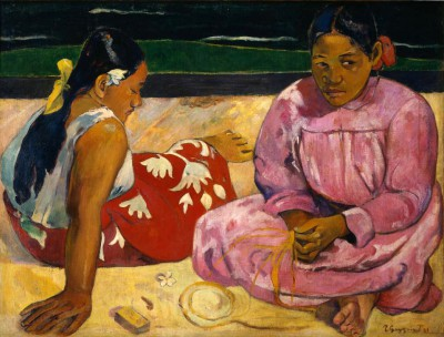 Women at the beach - Paul Gauguin
