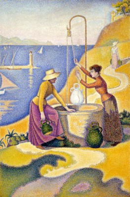 Women at the well, Opus 238 - Paul Signac