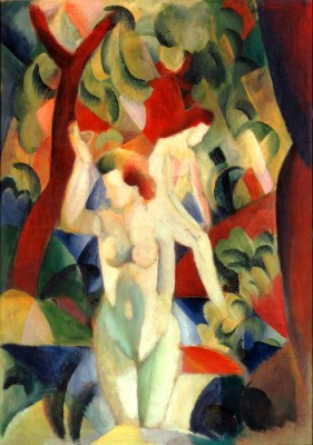 Women bathing - August Macke