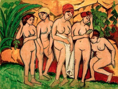 Women in the bath - Ernst Ludwig Kirchner