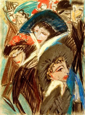 Women on the street - Ernst Ludwig Kirchner
