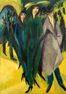 Women on the street II - Ernst Ludwig Kirchner