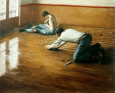 Wood Floor Planers - Gustave Caillebotte