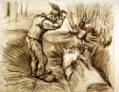 Woodcutter - Vincent van Gogh