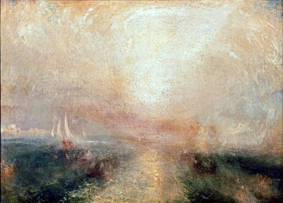 Yacht Approaching the Coast - William Turner