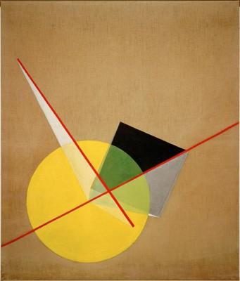 Yellow circle - László Moholy-Nagy