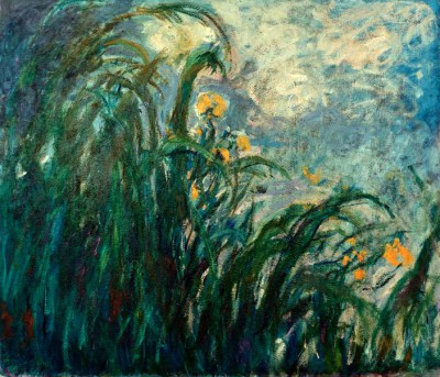 Yellow irises - Claude Monet
