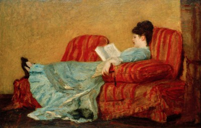 Young Lady Reading - Mary Cassatt