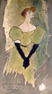 Yvette Guilbert - Henri de Toulouse-Lautrec