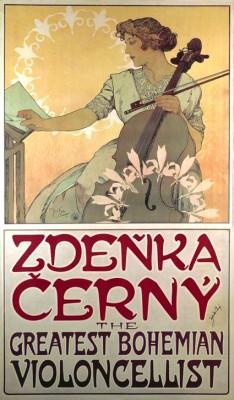 Zdenka Cerny - Alfons Mucha