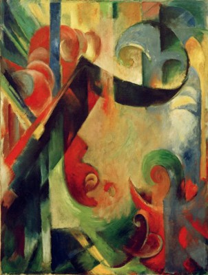 Zerbrochene Formen - Franz Marc