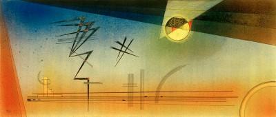 Zickzack in die Höhe - Wassily Kandinsky