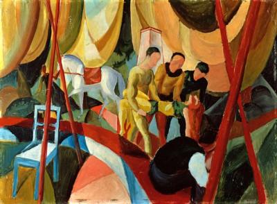 Zirkus - August Macke