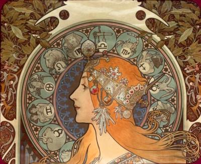 Zodiaque (2) - Alfons Mucha