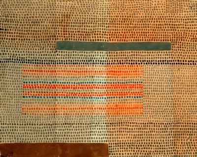Zwei betonte Lagen - Paul Klee
