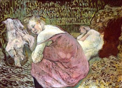 Zwei Freundinnen - Henri de Toulouse-Lautrec