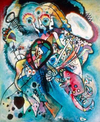 Zwei Ovale (Komposition Nr. 218) - Wassily Kandinsky