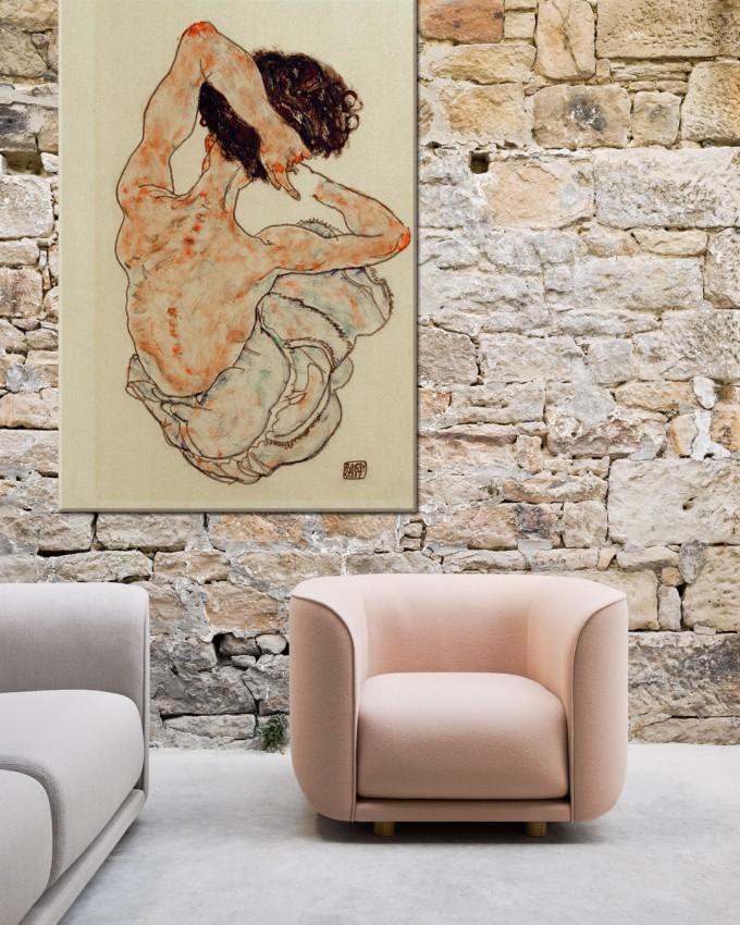 'Female back act' - Egon Schiele