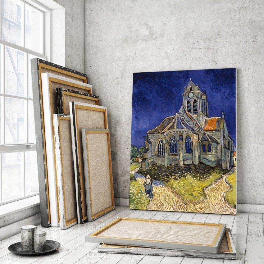 'The church in Auvers-sur-Oise' - Vincent van Gogh