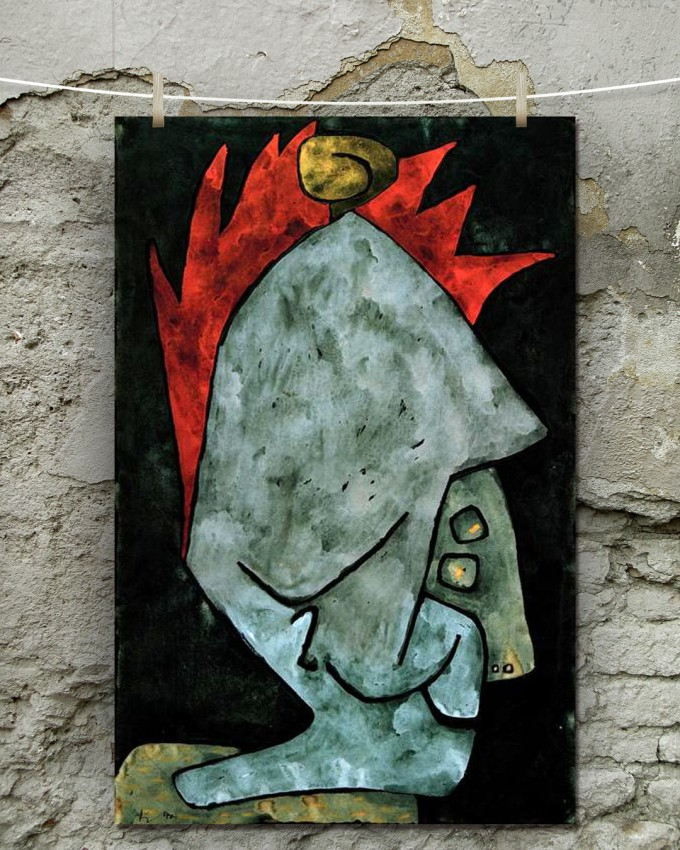 'Mephisto as Pallas' - Paul Klee