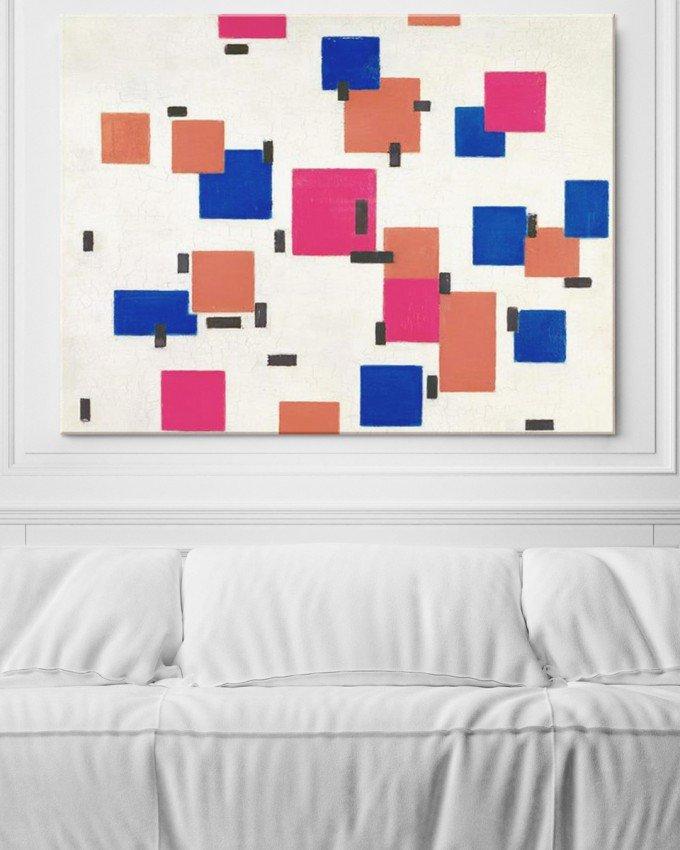 'Compositon in Colour A' - Piet Mondrian