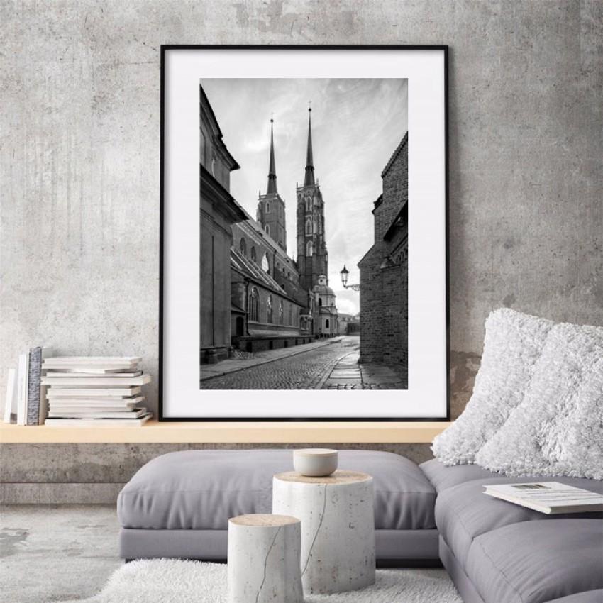 Plakat 'Wrocławska Katedra'