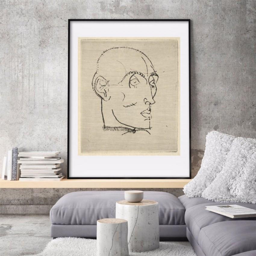 'Portrait of a Man' Egon Schiele