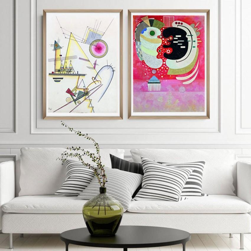 'Delicate soul' Wassily Kandinsky